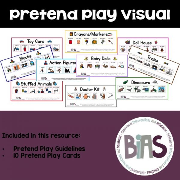 Pretend Play Visual Support