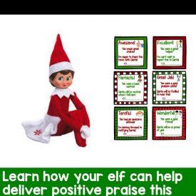 Positive Praise and the Elf on the Shelf