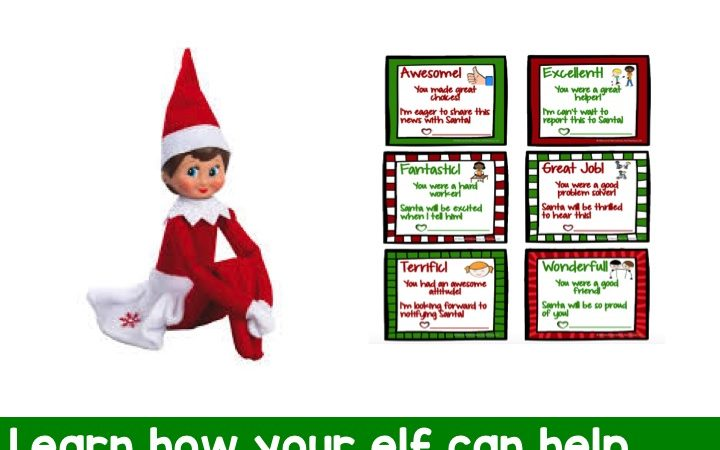 Positive Praise and the Elf on the Shelf