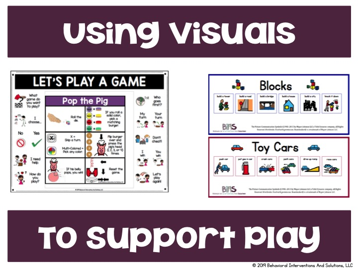 Using Visuals to Support Play