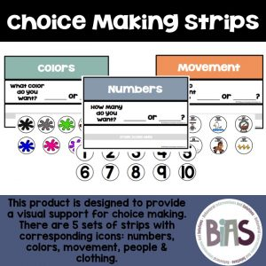 Choice Making Strips