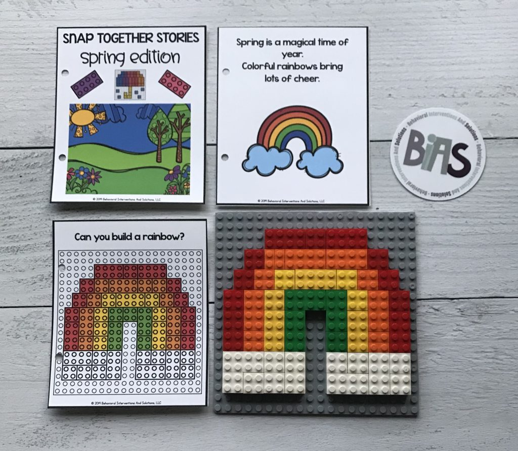 Snap Together Stories Spring Edition (LEGO/Building Brick Story Cards)
