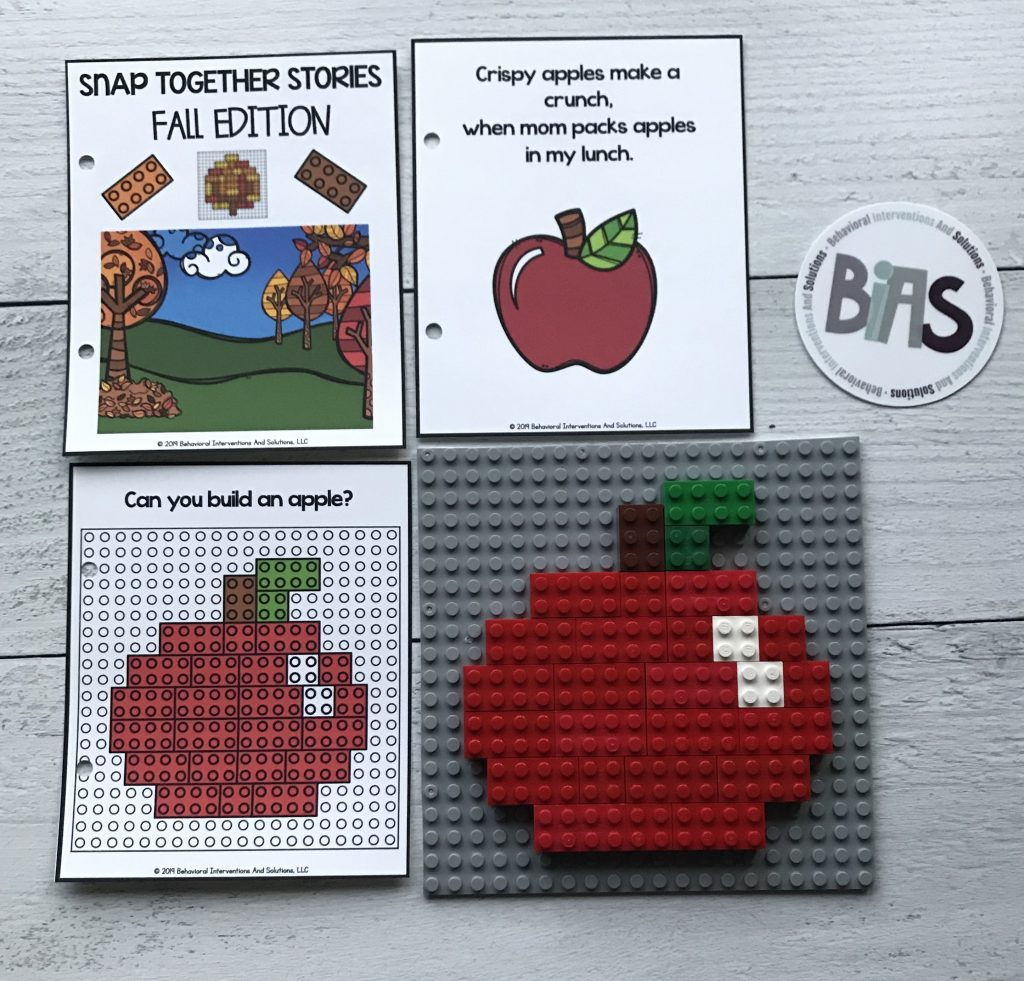 Snap Together Stories Fall Edition (LEGO/Building Brick Story Cards)