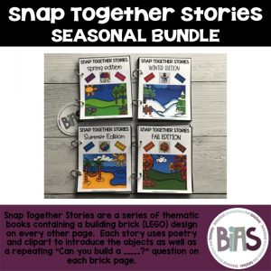Snap Together Stories Seasonal Bundle LEGO Building Brick Cards