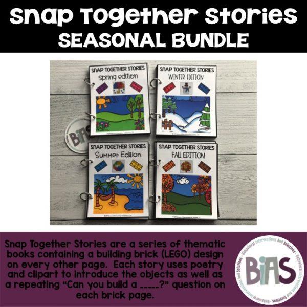 Snap Together Stories Seasonal Bundle LEGO Building Brick Cards