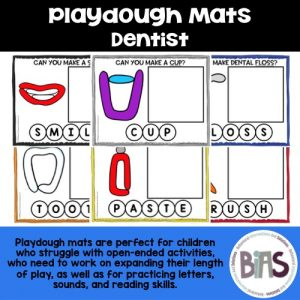 Playdough Mats Dentist