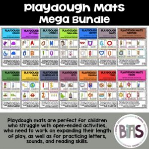 Playdough Mats Mega Bundle