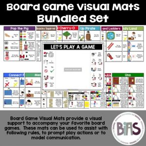 Board Game Visual Mats Bundled Set