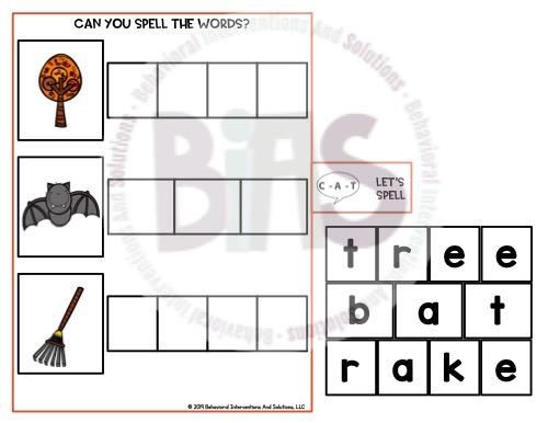 Interactive Book Spelling
