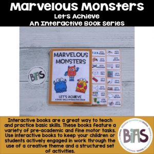 Interactive Book Monster Theme