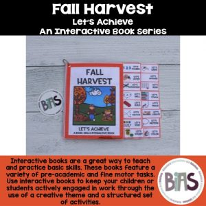 Interactive Book Fall Theme
