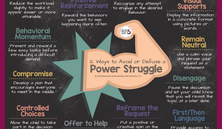 Tips for Avoiding or Defusing a Power Struggle