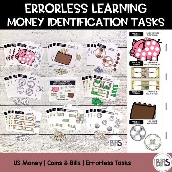 Errorless Learning Money ID Cover
