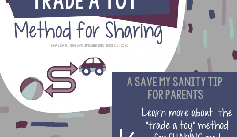 Trade a Toy Method for Sharing