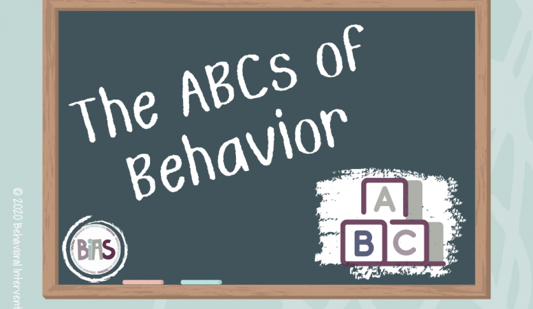 The ABCs of Behavior